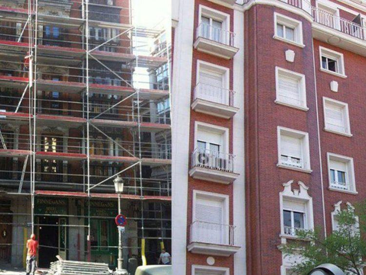 A quién pertenece la fachada de los edificios